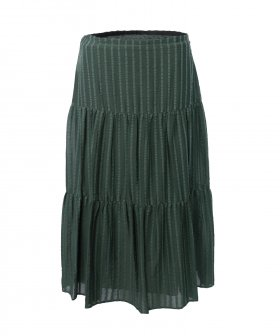 See By Chloé - See By Chloé Striped Skirt