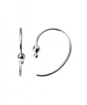 STINE A - S.A Petit Balloon Open Creol Earring