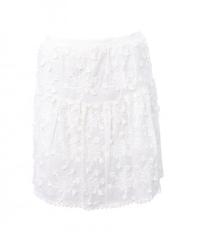 See By Chloé - See By Chloé Embroidery Skirt