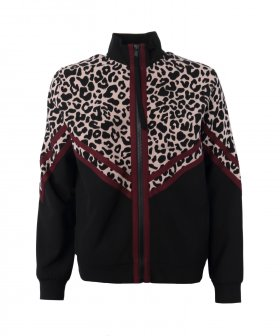 Nº21 - No. 21 Leopard Zip Sweat Shirt