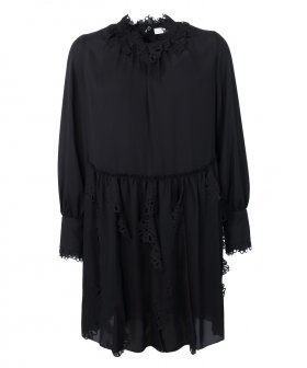 See By Chloé - See By Chloé Dress with Flower Cuts