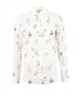 "Forte_Forte - Forte_Forte ""Highlands Flower"" Print co/se Shirt"