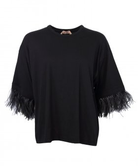 Nº21 - No. 21 Tee with Feathers