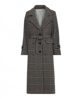 Heartmade - Heartmade Rosi Checked Coat