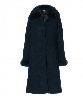 Oh! By Kopenhagen Fur - Oh! by Kopenhagen fur Franciska Wool Coat