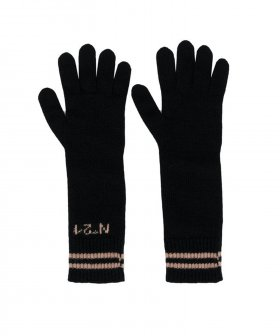 Nº21 - No. 21 Knitted Logo Gloves
