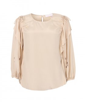 See By Chloé - See By Chloé Blouse with Shoulder Laces