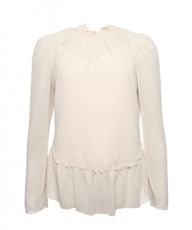 See By Chloé - See By Chloé Ruffle Blouse