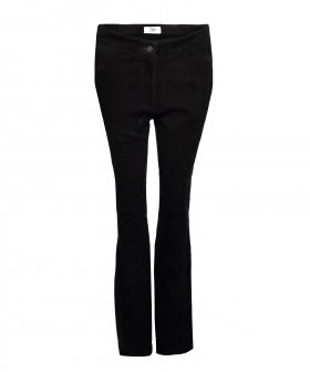 Sign - Sign Olivia Bootcut Suede Pants
