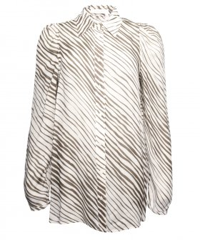 See By Chloé - See By Chloé Zebra Stripes Shirt
