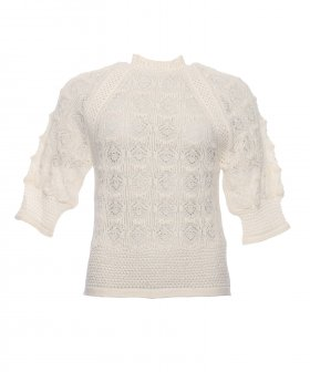 See By Chloé - See By Chloé Embroidery Knit