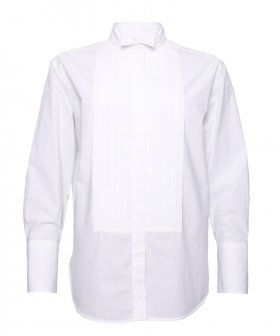 Bagutta - Bagutta Smoking Shirt white
