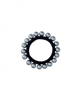Hairband w. Pearls Silver