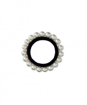 Hairband w. Pearls white