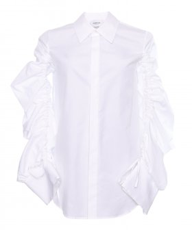 Dondup - Dondup Shirt w. Wrinkle Sleeve