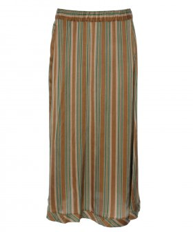 Diega - Diega 4753 Striped Skirt