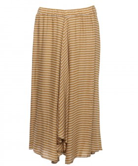Diega - Diega 4803 Striped Skirt