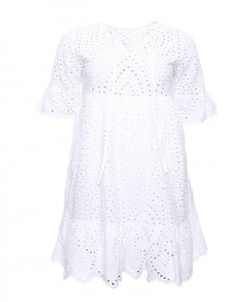 Sign - Sign Dress Cotton Lace White