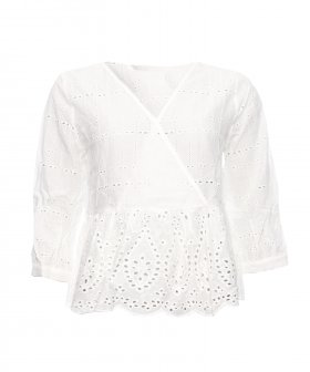 Sign - Sign Lace Cotton Blouse