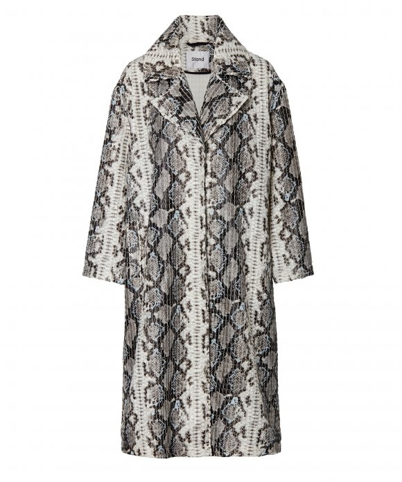 Stand - Stand Tasia Snake  Printed Coat